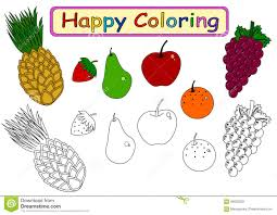 coloring book for kids stock illustration image 58002528