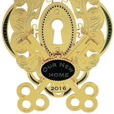 our new home ornament 2016 chemart ornaments solid brass ornament