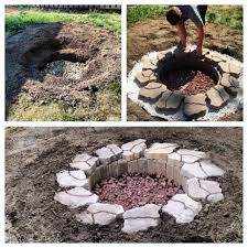 Diy Backyard Fire Pits by 25 In Ground Fire Pit Diy Granite Firepit Pownal Nswpeace Org