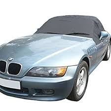 bmw z3 convertible top cover amazon com bmw z3 top roof protector half cover 1995 to