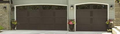 Exterior Garage Door by Carriage House Steel Garage Doors 9700