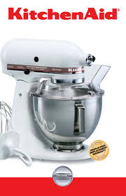 Kitchen Aide Mixer by Kitchenaid Mixer Ksm5 User Guide Manualsonline Com