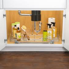 Under Kitchen Sink Pull Out Storage by Lynk Lynk Professional U Shaped Roll Out Under Sink Drawer U2013 Pull