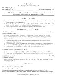 Customer Service Representative Sample Resume by Theatre Technician Cover Letter