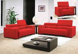red living room set fabric modern 3pc living room set mb0909 red