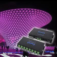 2016 new led lights controlers 16 channels artnet to spi dmx