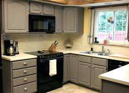 how to refinish painted kitchen cabinets easy way to paint kitchen cabinets without sanding refinish