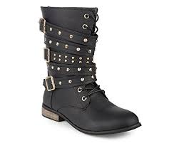 womens boots size 12 twisted s lace up boot bree01 black