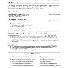 Cna Resume Builder 100 Cna Resume Download Cna Resume Templates