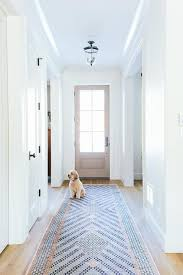 beautiful new hallway decor hallway runner barn doors and barn long foyer hallway with pink and blue runner transitional