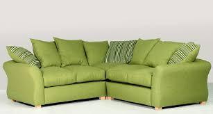 Green Sofa Bed Corner Sofa Green Fabric Pertaining To Remodel 16