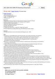 seo creative cv resume inspirational examples