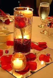 centerpieces with candles wedding decor candles