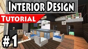 Minecraft Modern House Interior Design Tutorial Part - Modern interior designs for houses