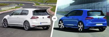 volkswagen gti blue 2017 vw golf gti clubsport s vs golf r comparison carwow
