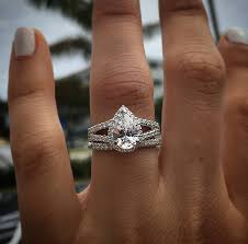 shaped engagement ring everything you need to about pear shaped diamonds raymond