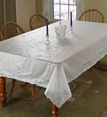 halloween lace tablecloth amazon com violet linen vinyl lace betenburg design oblong