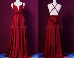 maroon dresses for wedding infinity dress plum bridesmaid dress wrap maroon dress wedding