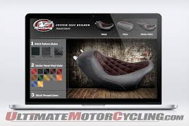 online design program mustang begins custom motorcycle seat program online you design it