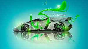 Lamborghini Veneno Green - monster energy lamborghini veneno roadster plastic car 2013 el tony