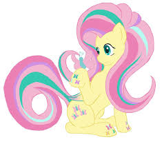pink flat color fluttershy rp flatcolor by alixnight on deviantart