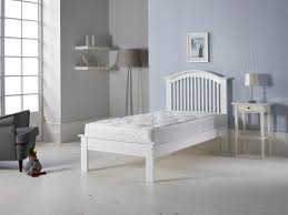 3 u0027 single wooden curved low end bed frame white one stop