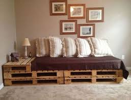 Bed Frame Made From Pallets Bed Frame Made Of Pallets Best 25 Pallet Bed Frames Ideas On