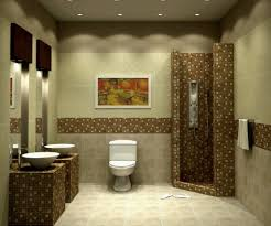 cool bathroom tiles design ideas along with compact shower space