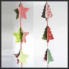 pointed and tree papercraft decorations free