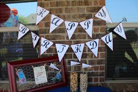 the furr five a backyard baseball birthday bash the decor