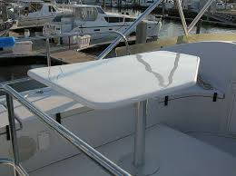 boat tables for cockpit custom boat fabrication mondo marine services