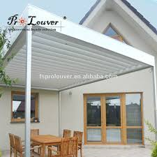 Louvered Roof Pergola by Fashion Pergola Aluminum Roof Motorized Operable Louvers Buy