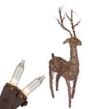 Christmas Deer Decorations by Outdoor Reindeer Christmas Decorations Simple Outdoor Com