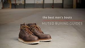 best rated motorcycle boots the best men u0027s boots 7 boots every man should own muted
