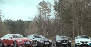 bmw 3 series or mercedes c class 2017 audi a4 vs mercedes c class vs bmw 3 series vs jaguar xe