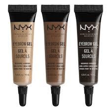 Make Up Nyx eyebrow gel nyx professional makeup