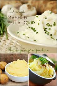 thanksgiving side dish ideas 5 mashed potato recipes spaceships