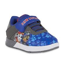 paw patrol light up sneakers boys blue paw patrol light up sneaker