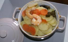 recette cuisine baeckoff recette baeckoff de la mer au saumon haddock et à l oignon
