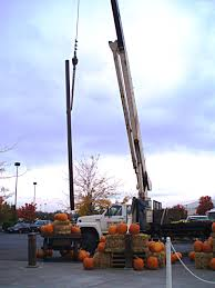pumpkin tower crane service by penny oberlander at harry and david