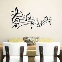 Musical Note Decorations Music Note Wall Decor Promotion Shop For Promotional Music Note