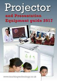 projector and presentation equipment guide 2017