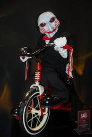 Saw Doll Meme - single most scary moment in a movie theater ever jigsaw from saw