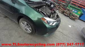 2014 Toyota Corolla Roof Rack by Parting Out 2014 Toyota Corolla Stock 6135br Tls Auto Recycling