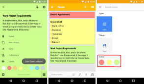 android color 7 tips for taking better notes in keep for android