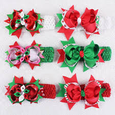 christmas headbands boutique christmas headbands baby hair accessories headbands kids