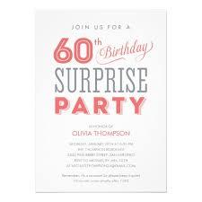 surprise 60th birthday party invitations vertabox com