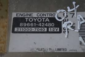 used 2000 toyota rav4 engine computers for sale