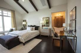 Natural Bedroom Ideas Natural Bedroom Decor With Symmetrically Arranged Beams Also Dark