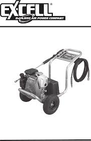 Excell Pressure Washer Xr2600 Pdf Operation Manual Free Download